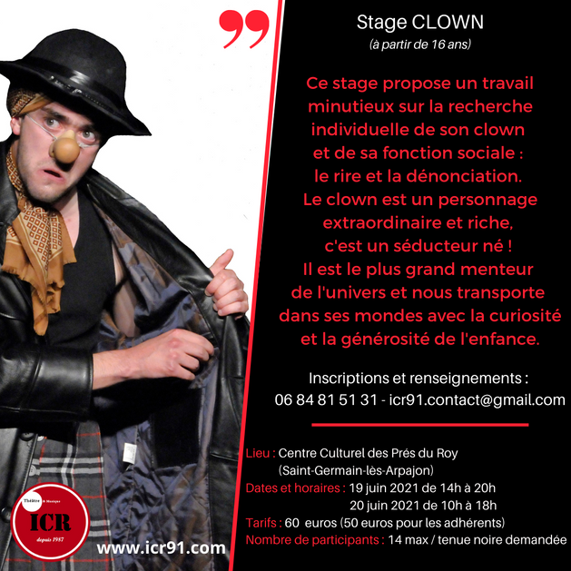 Stage clown