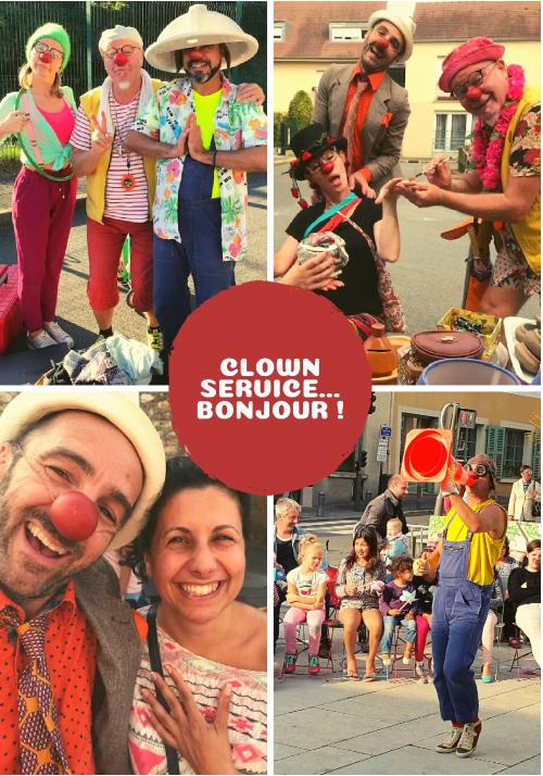 Clown service...bonjour !