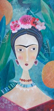 Frida Female Icon