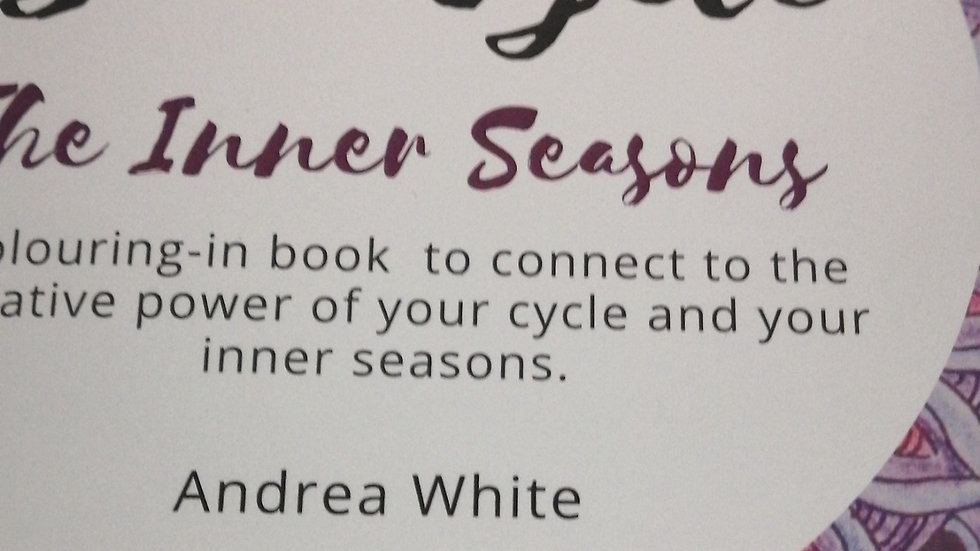 Colour Your Cycle- The Inner Seasons