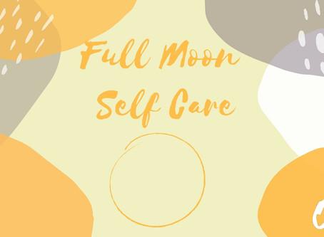 Full Moon Self Care