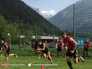 Les Gallois venus en Suisse pour Webb Ellis