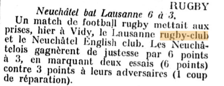 Feuille d'avis de Lausanne 8 mai 1922