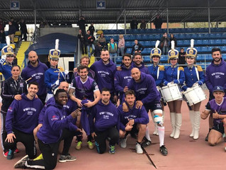 Switzers Vice Champions d'Europe