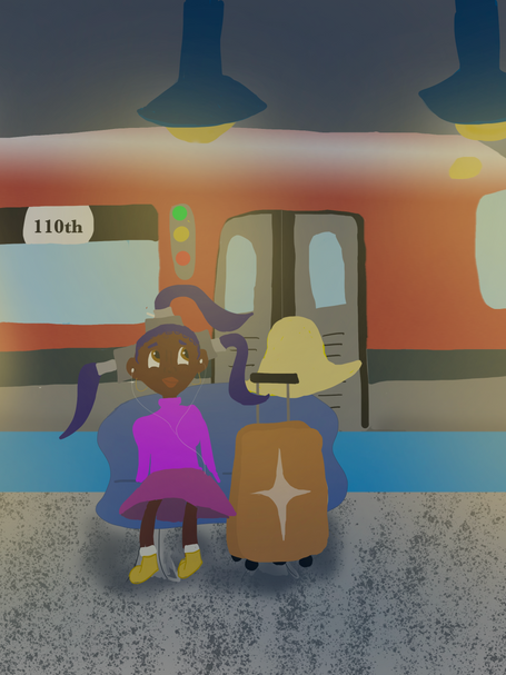 Nebula waits for the Route 66 bullet train