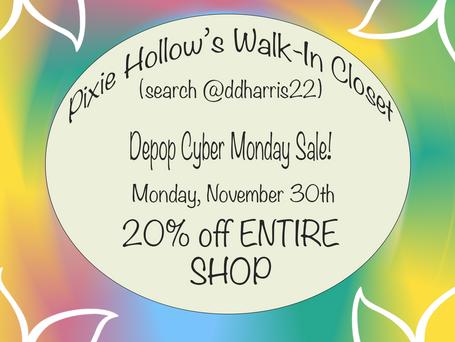 Instagram Sale Flyer for Depop store
