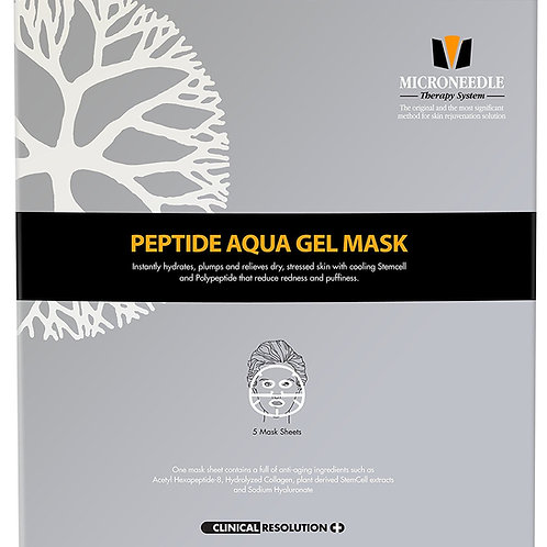 MTS Peptide Aqua Gel Mask 5 Pcs / Box