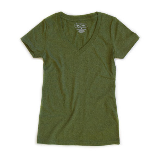 Ladies Recycled V-Neck