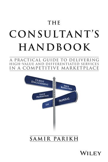 The Consultant's Handbook Cover