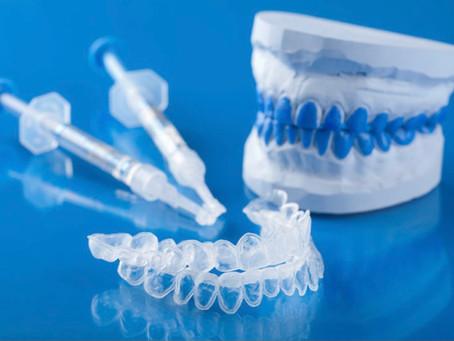 Instructions d'utilisation pour le blanchiment des dents