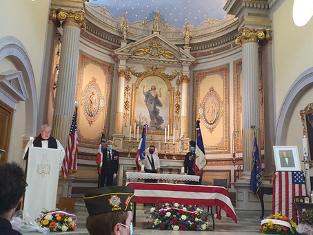 U.S. Navy and Beaulieu-sur-Mer Remember WWII Veteran Lawrence Eliot