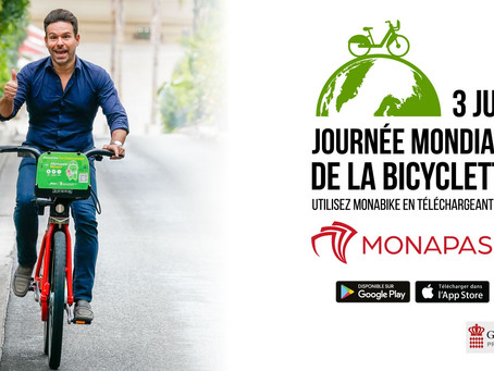 Monaco and SNCF Celebrate World Bicycle Day!