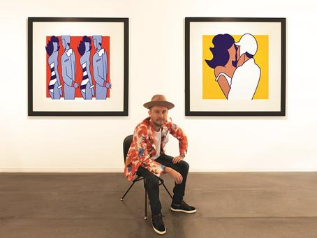 PORTRAIT: Alan Walsh Gallery in Monaco