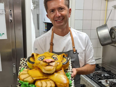 PORTRAIT: Chef Alex wows Monaco with his amazing cakes