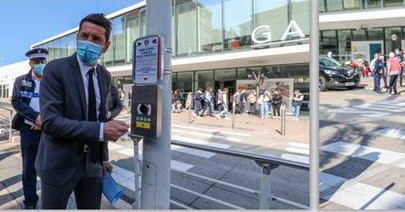 Cannes Continues to Improve Citizen's Safety with New Emergency Alarm Buttons