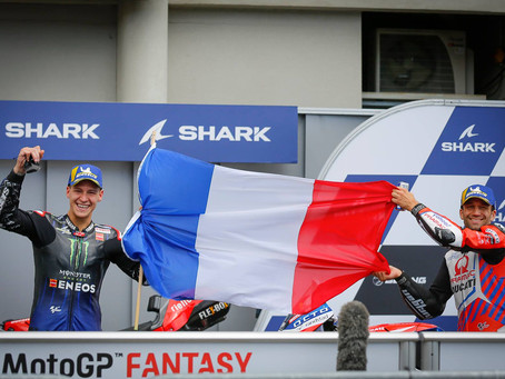 Two local Racers Take Podium in 2021 French Moto-GP