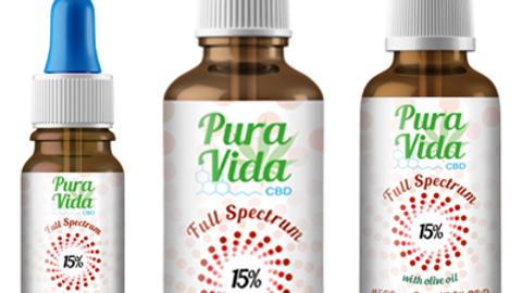 PURA VIDA CBD FULL SPECTRUM WITH HEMP OIL