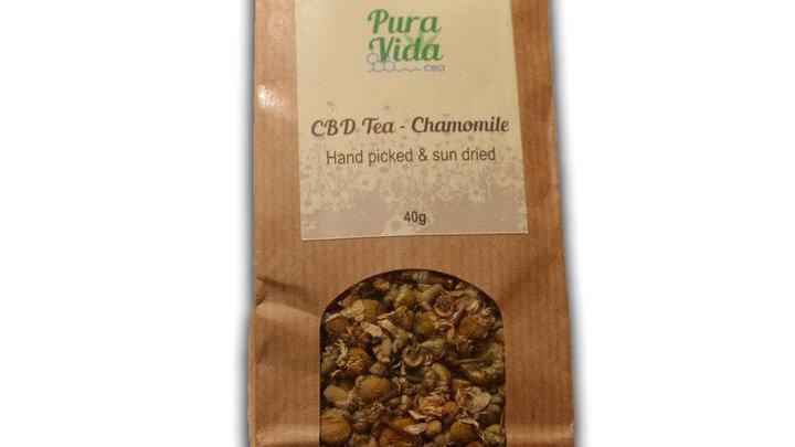Pura Vida 100% Organic Chamomile Tea 40gr