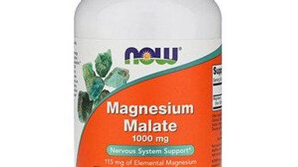 NOW Magnesium Malate 100mg 180 Tabs