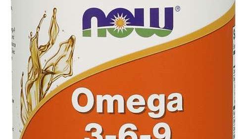 NOW Omega 3-6-9 1000mg 100 Softgels