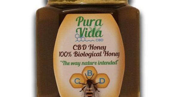 Pura Vida CBD Honey, Raw & 100% Biological