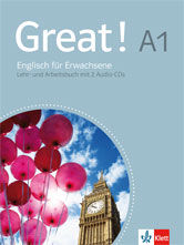 Coursebook for adult learners in Germany, published by Klett
