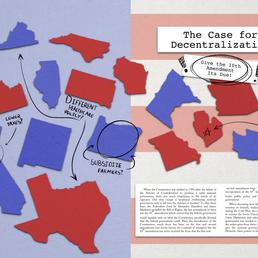 Decentralization Spread - May 2018