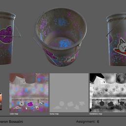 Spray Paint Bucket - Texture Sheet