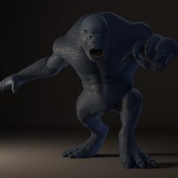 Dramatic Lighting - Monster