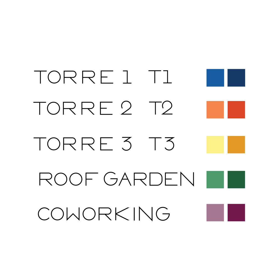 asignación de colores