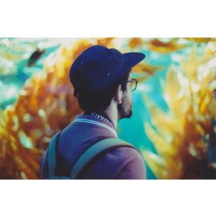 Juan en el acuario