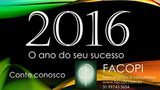 2016- Ano de sucesso