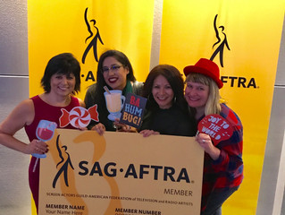 Holiday celebration at SAG AFTRA