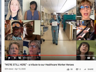 VIRTUAL CHOIR for the HEALTHCARE WORKERS