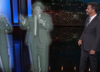 Anyone catch our talented Client playing the ghost of Louis Armstrong on KIMMEL last night?!