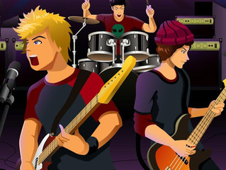 Rock Band Booked