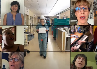 Virtual Choir for Healthcare Workers!