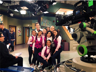 Our talent on the Disney Channel!