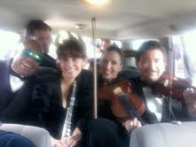 What's better than a car full of musicians?