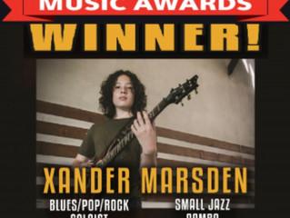 DownBeat Student Music Award Winner!
