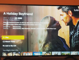 A HOLIDAY BOYFRIEND - a lovely gift