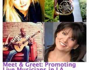 Meet & Greet: Promoting Live Musicians in LA
