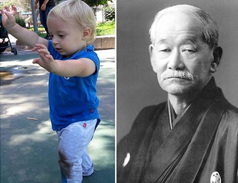 מה הקשר בין מייסד הג'ודו, לצעדים ראשונים של תינוק?