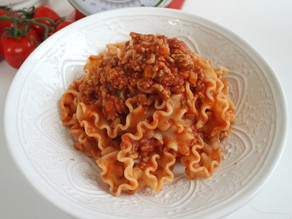 Ragù for 100 shapes of pasta