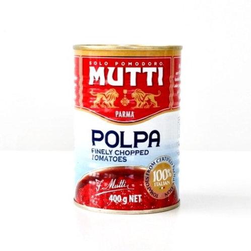 Chopped Tomatoes- MUTTI- 400 gr