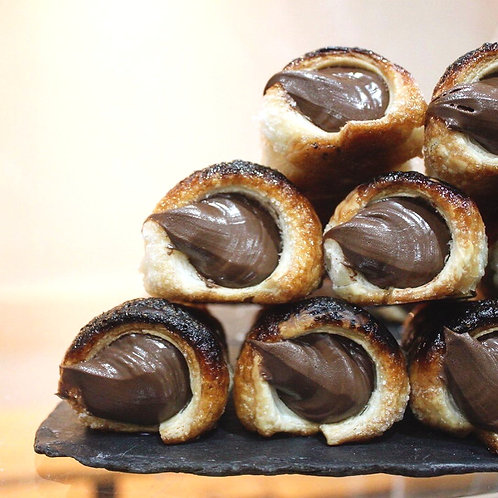 Cannoncino with Nutella