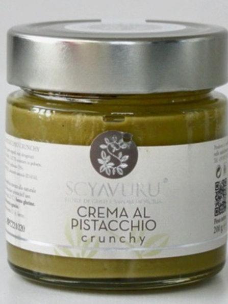 PISTACCHIO sweet cream- CRUNCHY- 200 gr