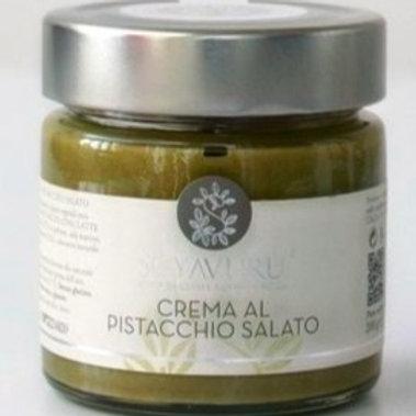 PISTACCHIO sweet cream- SALTED- 200 gr