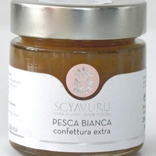 White Peach Jam- Sicily- 250 gr