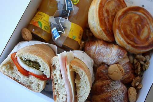 Brunch box- mixed sweet and savoury x 2
